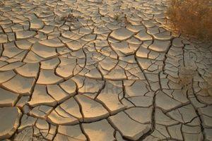 Dry soil no land